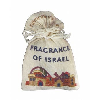 Embroidered Fragrant (Besamim) Bag