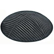 Embossed Suede Kippot - Medium Lines