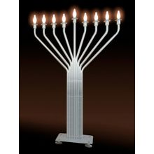 Jumbo Electric Menorah  - New Infinity 6 1/2 Ft Tall