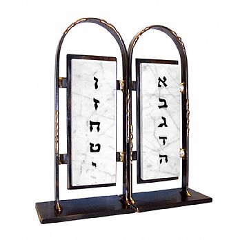 Gary Rosenthal 10 Commandments Bookends