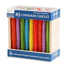 Festive Beeswax Candles