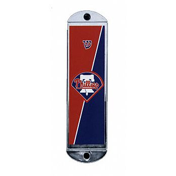 Metal Car Mezuzah - Phillies