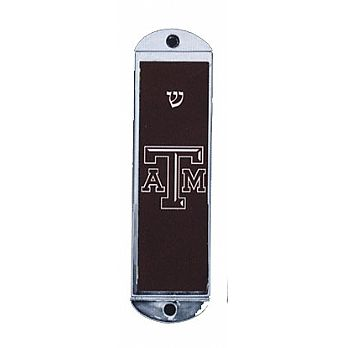 Metal Car Mezuzah - Texas A&M
