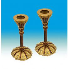 Jeweled Siena Candlestick Set