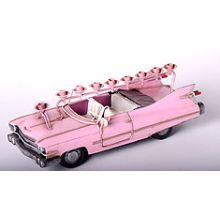 All Metal Pink Cadillac Menorah
