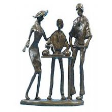 Bar Mitzvah Family Group  Figurine