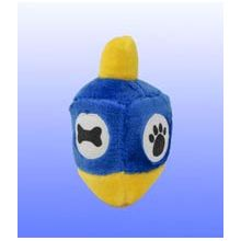 Jewish Plush Pet Toy - Dreidel