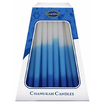 Deluxe Tri Colored Candles - MADE IN ISRAEL
