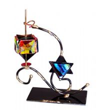 Gary Rosenthal Art Dreidel - Star of David
