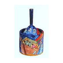 Wooden Art Dreidel Box by Yair Emanuel - Noahs Ark