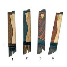 Artistic Carved Wood Mezuzah Covers