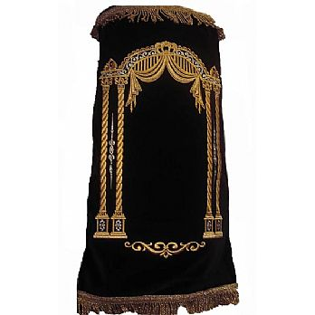 Velvet Torah Mantel (Cover) - Drapes