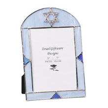 Stained Glass Bar Mitzvah Picture Frame