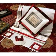 Soft Cotton Luxurious Tallit Set - A Time for Everything