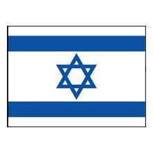 Large Cloth Israeli Flags