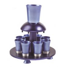 Anodized Aluminum Kiddush Fountain - Blue