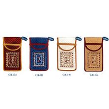 Embroidered Glasses Pouch