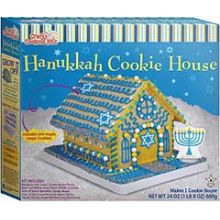 Hanukkah Dream Cookie House