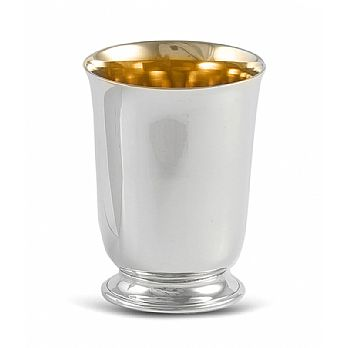 Sterling Silver Kiddush Wine Cup - Petite High Polish