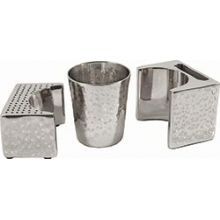 Havdallah Set By Emanuel High Polished Aluminum Artistic