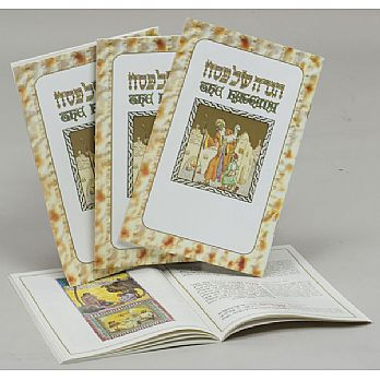Hebrew English Illustrated Hagaddah