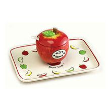 Ceramic Apple & Honey Dish