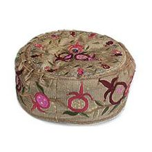 Machine Embroidered Kippah Hat
