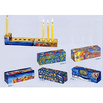 Compact Travel Menorah