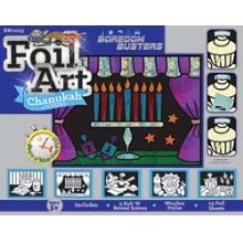 Hanukkah Foil Art Craft Game