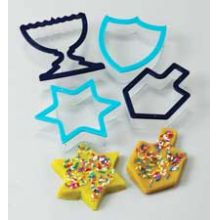Large Hanukkah Cookie Cutters