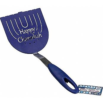 Menorah Shaped Latke Spatula