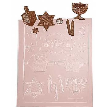 Hanukkah Chocolate Mold