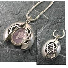 Star of David Lady Bug Locket