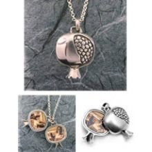 Large Pomegranate Locket