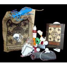The Original Sack of 10 Plagues for kids, Perfect for Passover seder