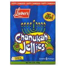 Hanukkah Jellies - 6 Packets
