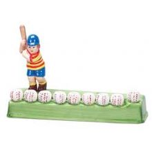 Ceramic Baseball Menorah