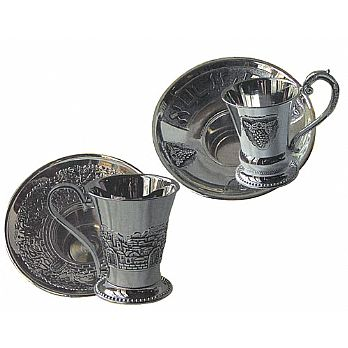 Silver Plated Mayim Achronim Sets
