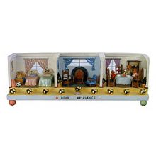 The Three Bears Residence Menorah