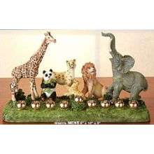 Wildlife Menorah