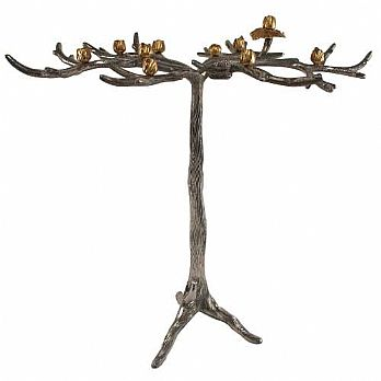 Tree in Bloom Menorah