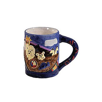 Ceramic Coffee Mug by Emanuel - Noahs Ark