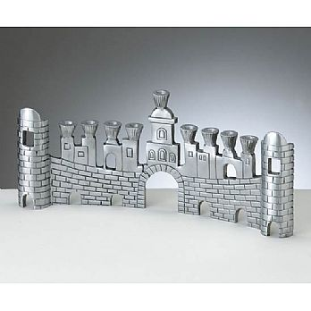 Aluminum  Strip Menorah - Jaffah Gate