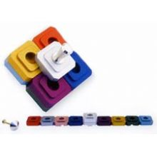 Dreidel Menorah by Avia Agayof - Multi Color