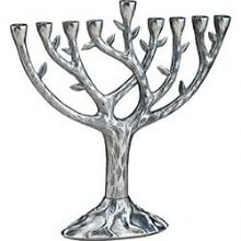 Real Looking Tree of Life Menorah - Large