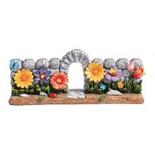 Magnificent Polyresin Garden Menorah