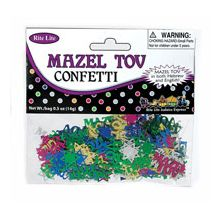 Bag of Mazel Tov Confetti