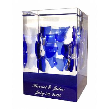 Custom Cube  for Wedding Glass Breaking Cup  Shards - Square