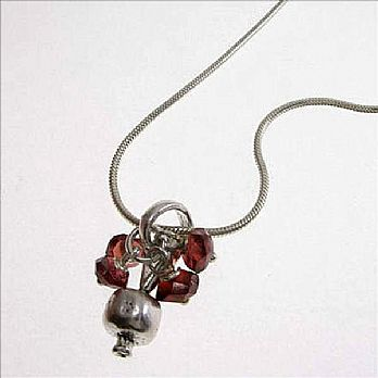 Mini Pomegranate Necklace