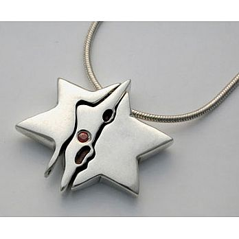 Jerusalem Star of David Necklace